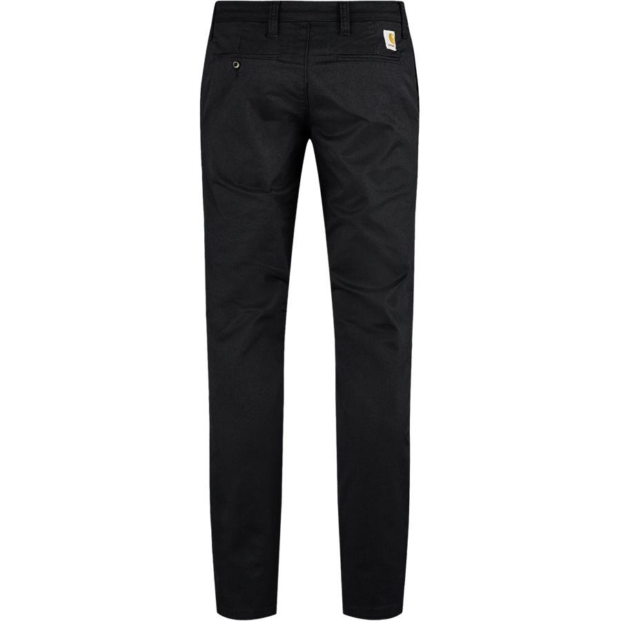 SID PANT I003367 - Sid Pant - Bukser - Slim - BLACK RINSED - 3